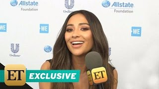 Shay Mitchell on the Father of Ali