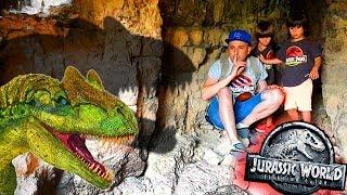 Juguetes JURASSIC WORLD 2 😱LA CUEVA DE LOS DINOSAURIOS🦖ANKYLO, PTERANODON, STYGI, CERATOSAURUS...