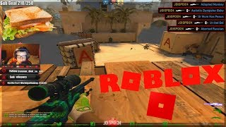 Pro Roblox Player Plays CS:GO