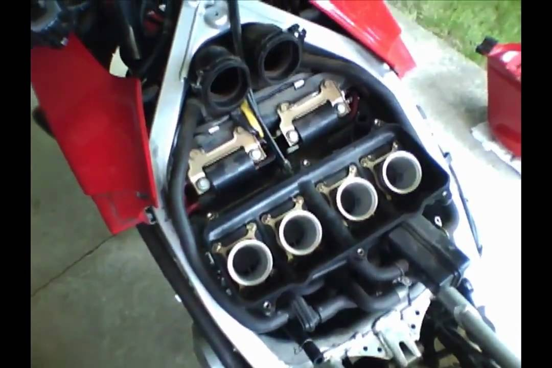 Maintenance How To Remove Your Airbox(1998 Honda CBR 600 F3) - YouTube