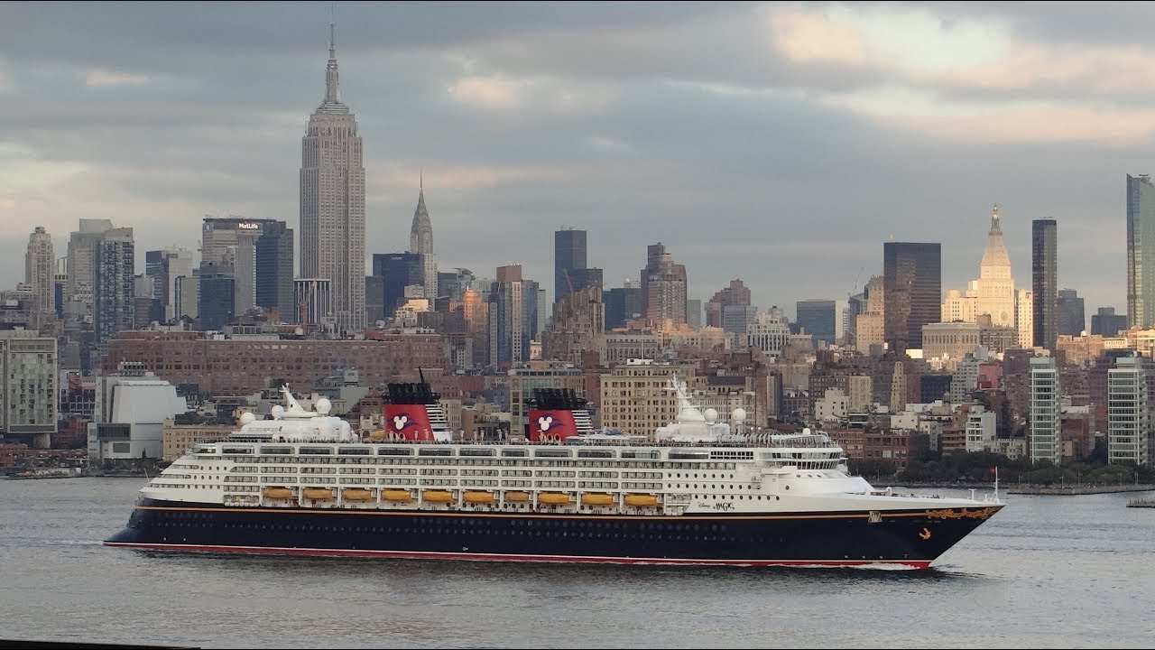 New York New York Disney Magic Departing New York City HD - Cruises departing from ny