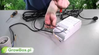 Jak podłączyć lampę HPS / MH