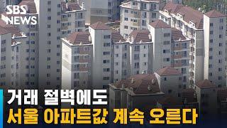 거래 절벽에도 서울 아파트값 계속 오른다 / SBS