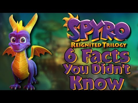 Spyro Reignited - 6 Facts You Didnt Know FEAT. RaPWNzel