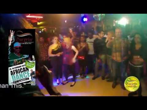 African Dance Contest  - 10th  February, 2012 @ Surprise Club, Berlin