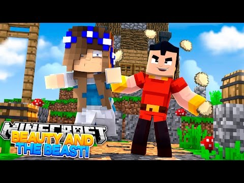 BEAUTY AND THE BEAST THE MOVIE #2 w/Little Carly (Minecraft Roleplay)
