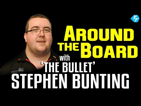 Stephen 'The Bullet' Bunting goes 'Around the Board' with Paul Starr