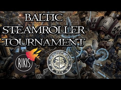 RIKIO KLUBAS | Baltic Warmachine/Hordes Steamroller TOURNAMENT in LITHUANIA