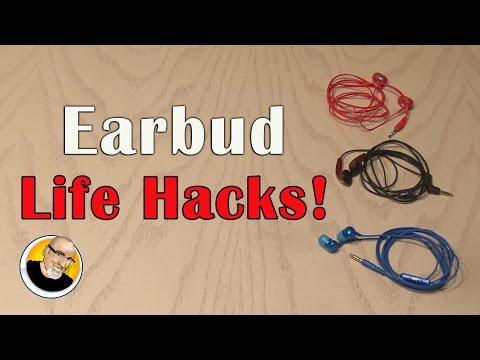Earbud Life Hacks!