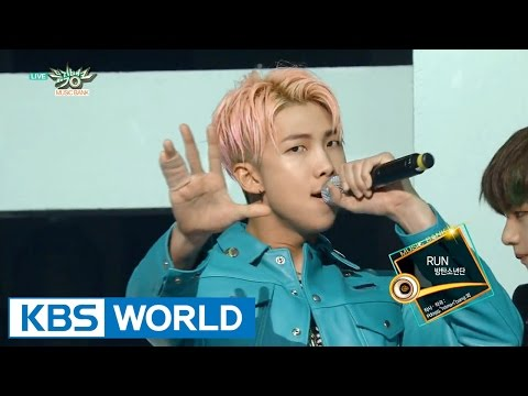 BTS (방탄소년단) - RUN [Music Bank COMEBACK / 2015.12.04]