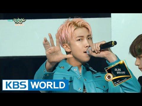 BTS (방탄소년단) - RUN [Music Bank COMEBACK / 2015.12.04]