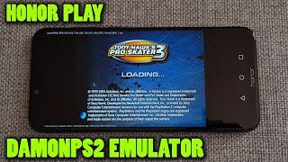 Honor Play - Tony Hawk's Pro Skater 3 - DamonPS2 v2.5.1 - Test