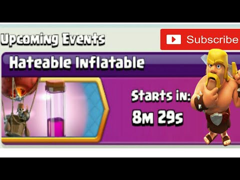 Clash Of Clans | Hateable Inflatable Today's Event | Balloon + Haste Spell | Clash With Bhargav |