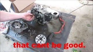 1962 Honda 50 Engine Tear Down/Up