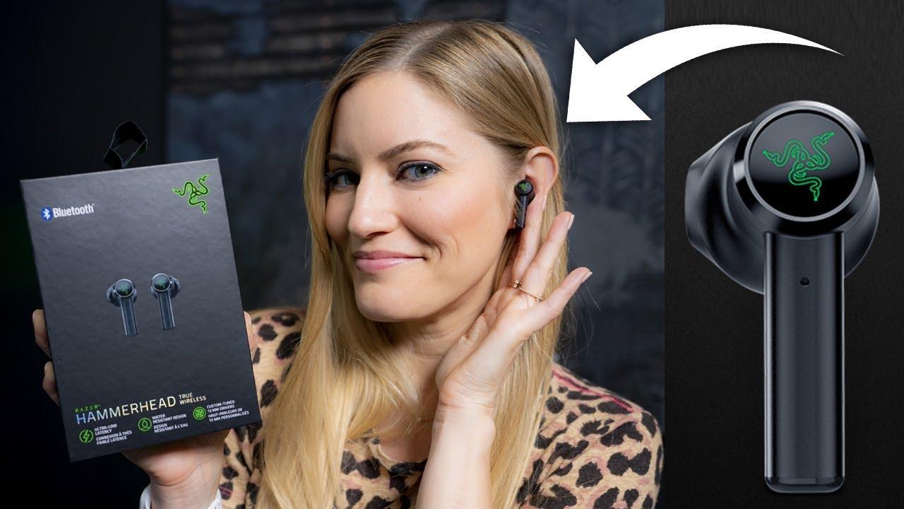 Razer S Airpods Hammerhead True Wireless Earbuds Youtube