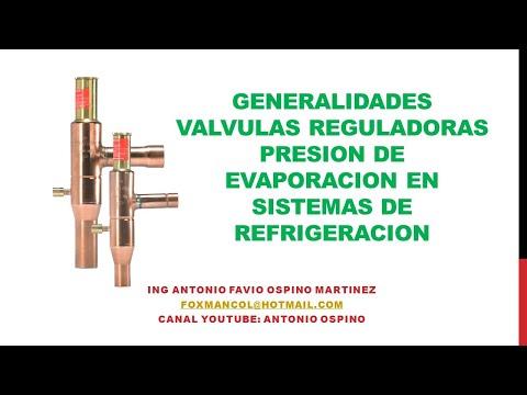 Valvula reductora de presion partes
