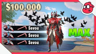 I Spent $100,000 UC on RAVEN X-Suit MAX | PUBG MOBILE