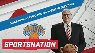 Does Phil Jackson Attend His Own Exit Interview? | SportsNation | ESPN