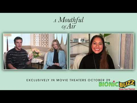 Amanda Seyfried & Finn Wittrock Talk About their Roles in A MOUTHFUL OF AIR w/ Veena Goel Crownholm