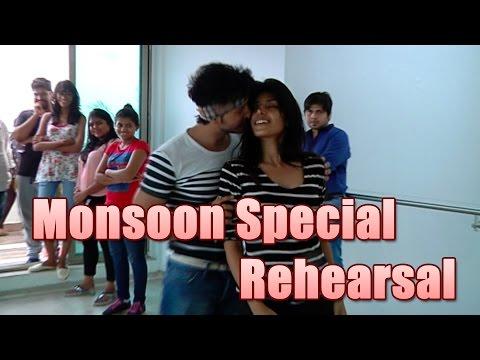 Param And Harshita Aka Randhir And Sanyukta Of Sadda Haq Rehearses For Monsoon Special