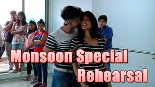 Repeat youtube video Param and Harshita aka Randhir and Sanyukta of Sadda Haq rehearses for Monsoon Special