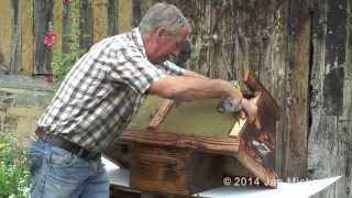How To Build A Top Bar Hive Using Straw And Cow Dung - Narration By Phil Chandler
