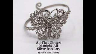 Gambar cover Silver Jewellery by Manizhe Ali at Full Circle Gallery Karachi