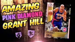 PINK DIAMOND Grant Hill Takes NO PRISONERS! Nba 2k19 Myteam Unlimited UNSTOPPABLE CARD!