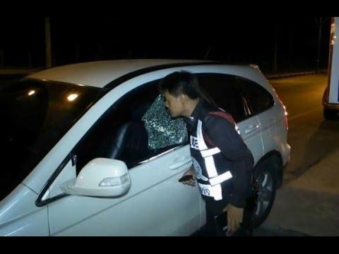 มือดีทุบกระจกรถที่ชลบุรีได้ทรัพย์สินไปอื้อ