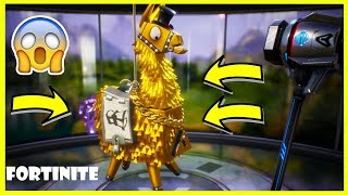 THE LAMA A 1000 V-BUCKS! IT CONTAINS MYTHICAL?! OPENING LAMA FORTNITE!