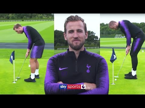 Harry Kane & Eric Dier vs Christian Eriksen & Ben Davies | Golf Putting Challenge ⛳