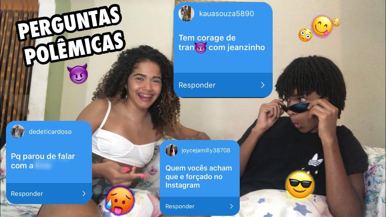 RESPONDENDO PERGUNTAS POLÊMICAS *Feat JEANZINHO STC*