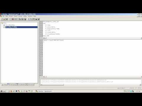 Wago Codesys 2 3 Quick Start Guide Structured Text Youtube