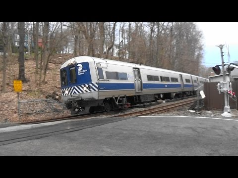 Metro North Morning Rush Hour Railfanning At Valhalla