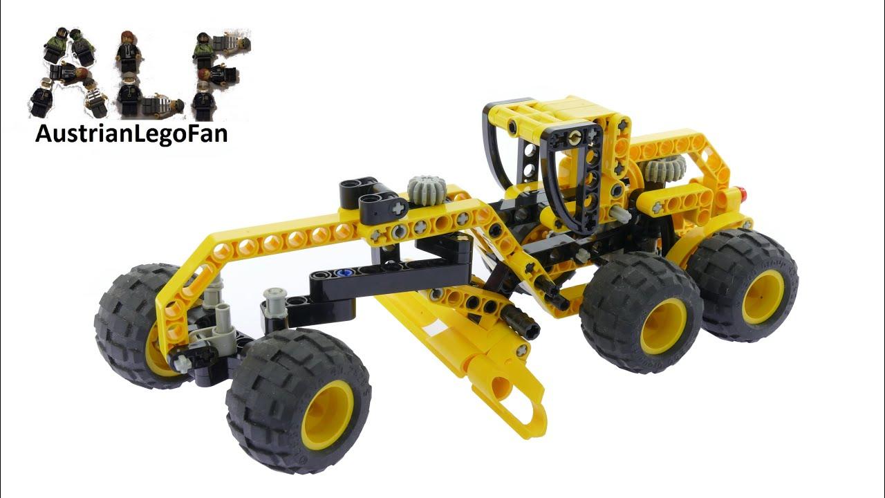 lego technic 8451 motor grader lego speed build review. Black Bedroom Furniture Sets. Home Design Ideas