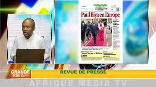 revue de presse : GRANDE TRIBUNE DU 13 08 2018