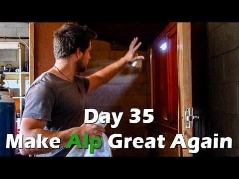 MAGA Transalp Motorcycle Rebuild Day35 – Spray Painting Preparations!