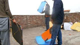 Kite Flying is a sport in subcontinent