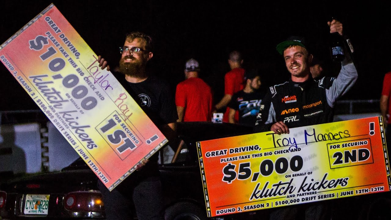 We finally did it! We won Klutch Kickers in the LS Miata Against Pro FD Drivers! (and $10,000)