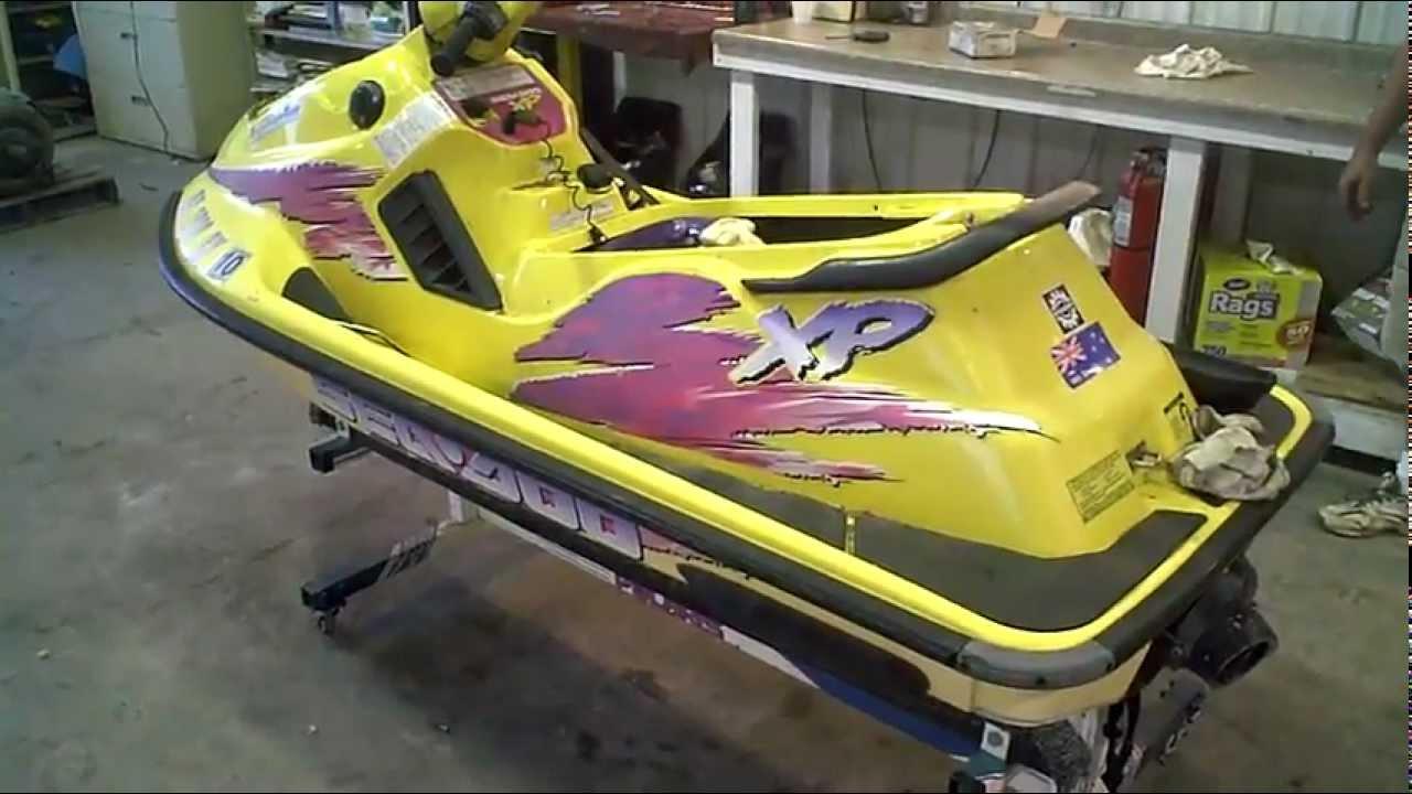 1996 Seadoo Xp >> 1996 Xp 800 Running Sea Doo Lot 1033a Youtube