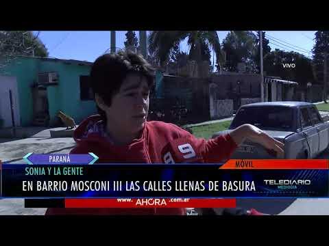 Sonia y la gente: reclamos en Mosconi III de Paraná