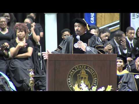 Steve Harvey delivers the ASU Spring Commencement Address