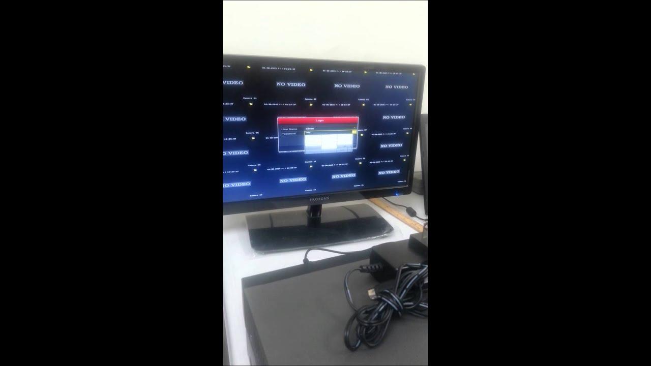 Eliminar sonido de alarma en dvr hikvision youtube for Sonido de alarma