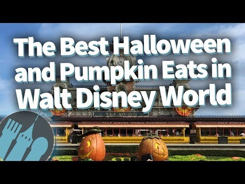 The Best Halloween and Pumpkin Eats in Walt Disney World!