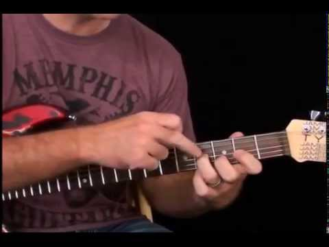 Electric Guitar Lesson: Chord Soloing In The Style Of Little Wing by ...