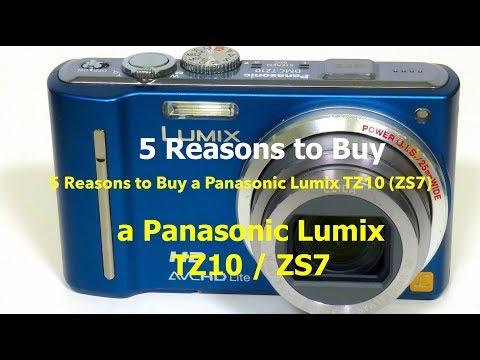 5 Reasons to Purchase a Panasonic Lumix TZ10 (ZS7)