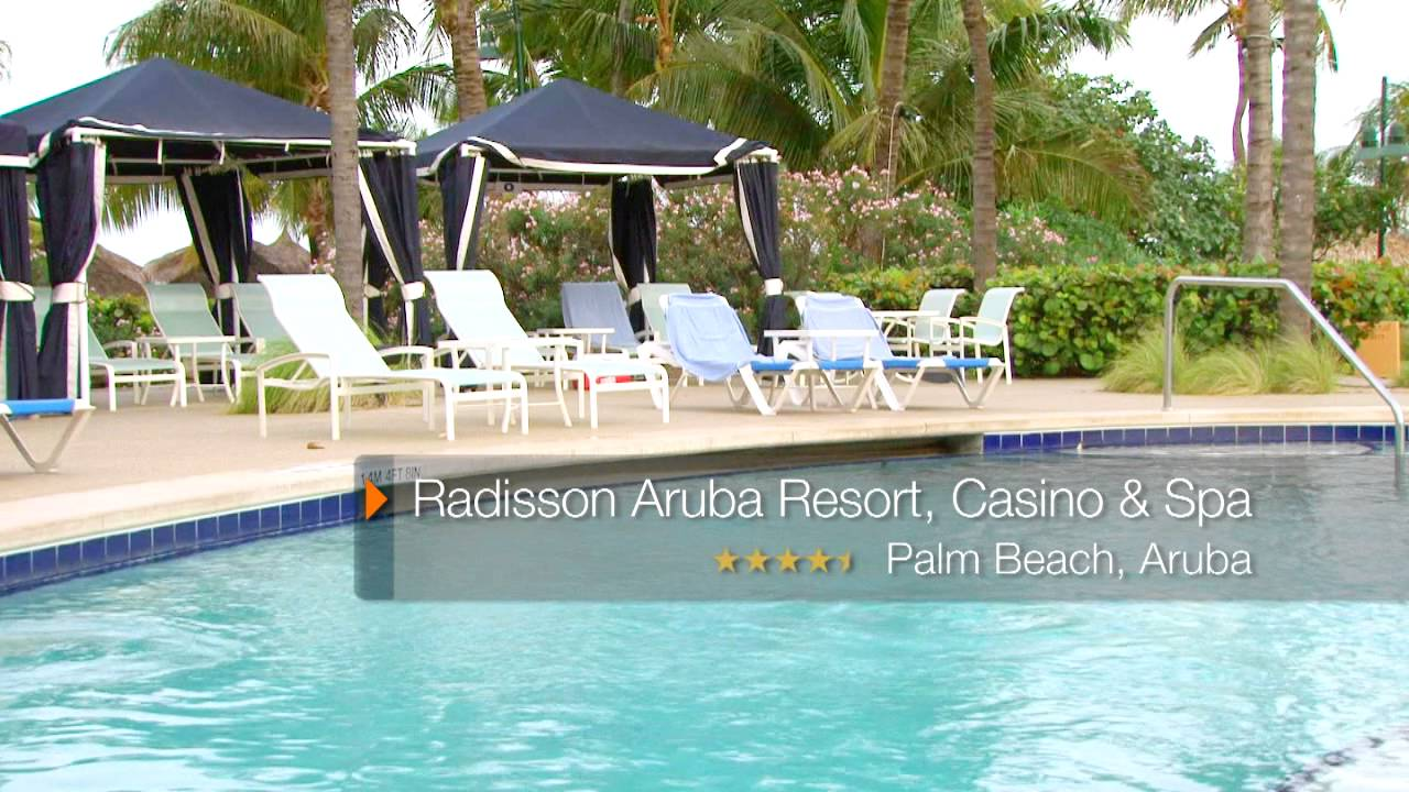 radisson aruba resort, casino & spa - palm/eagle beach, aruba - on