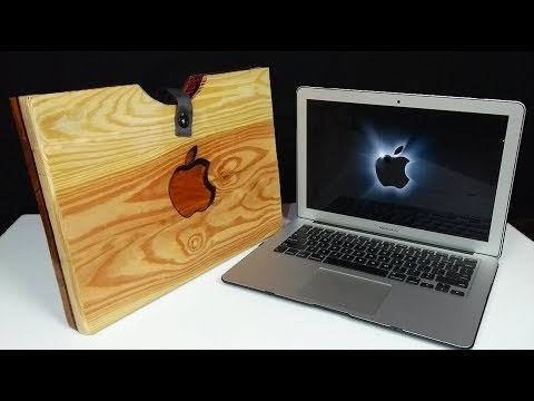 DIY Laptop Case from Wood