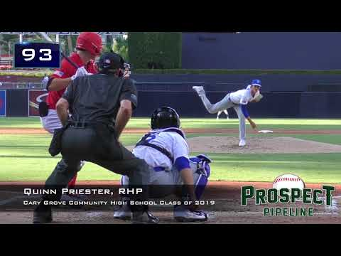Quinn Priester Prospect Video, RHP, Cary Grove Community High School Class of 2019