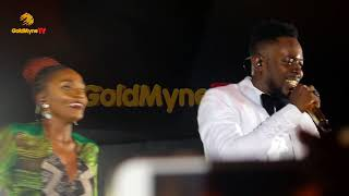 ADEKUNLE GOLD AND SIMI39S PERFORMANCE AT ONE NIGHT STAND WITH ADEKUNLE GOLD